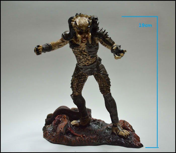 NECA Toys AVP: Alien Vs Predator Doll the Predator Action Figure Resin Figurine19cm/7.5inch Height