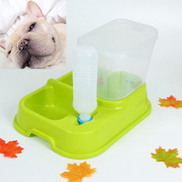 Fashionable Automatic Pet Dog Cat Drinking Feeder Adjustable Pets Cats Dogs Bowl Feeder Water Dispenser For