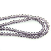 4X6/6X8mm Violet Faced 720 3600pcs Glass Crystal Rondelles Beads China Craft Material For Home Decoration Wholesale