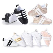 First Walkers Fashion PU Leather Sports Shoes Anti-slip Infant Baby Boy Shoes New Springc Newborn Casual Shoes Age 0-18M