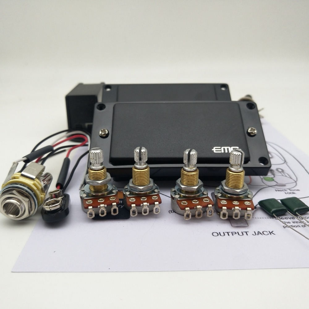 Sensational 25K Guitar Parts Emg 81 85 Active Pickups Wiring Harness Pots For Wiring Digital Resources Timewpwclawcorpcom