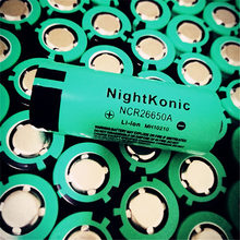 цена High Quality  Nightkonic 1  PCS /LOT 26650 -50A  Battery 3.7V 5000mAh  Li-ion Rechargeable Battery For LED Flashlight Torch онлайн в 2017 году