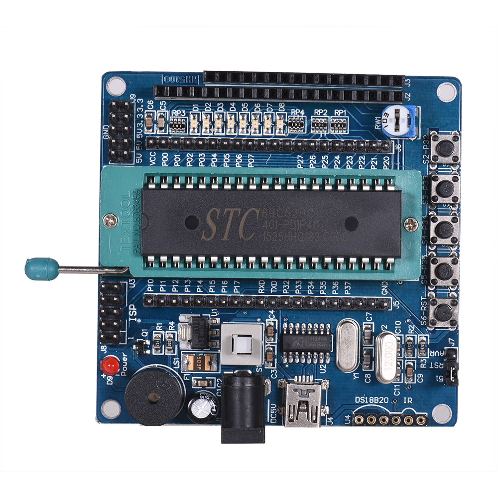 NH5100 Development Board with USB Cable Single-chip Development Board Learning Development Accessories Computer Components Board