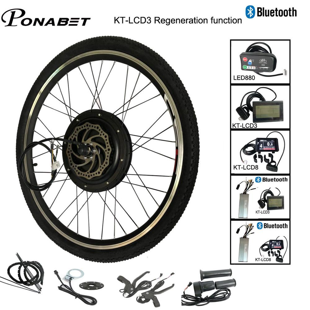 Ebike Electric Bicycle Conversion Engine Motor Wheel Kit 20 24 26 28 29 inch 700C 36V