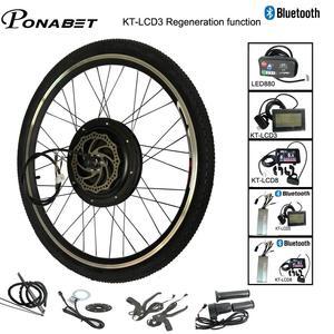 Ebike Electric Bicycle Conversion Engine Motor Wheel Kit 20 24 26 28 29 inch 700C 36V 250W 48V 1000W 1500W Front Rear E Bike(China)