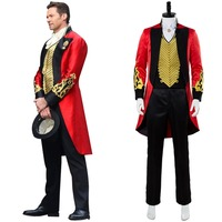 The Greatest Showman P.T. Barnum Cosplay Costume Outfit Adult Men Halloween Carnival Costumes Custom Made