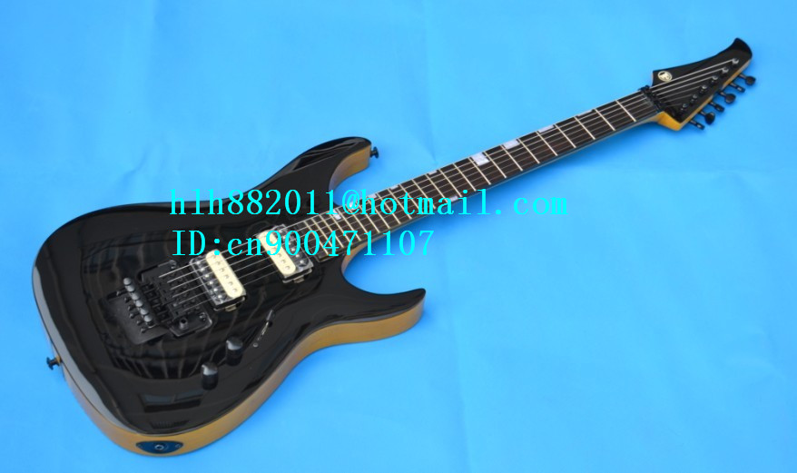 free shipping wholesale and retail new Big John 6-strings electric guitar with all single sandwich F-1513
