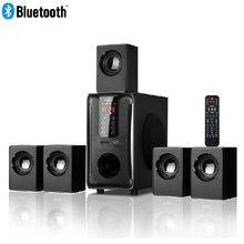 Système de haut-parleurs Home cinéma 5.1 canaux, Bluetooth  USB  SD  FM Radio télécommande écran tactile, Dolby Pro logique son Surround