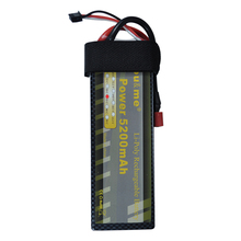 You&me 7.4V 5200mAh 35C-70C RC Hard Case battery 2S RC LiPo Battery  for 1/10 RC Car T plug Truck