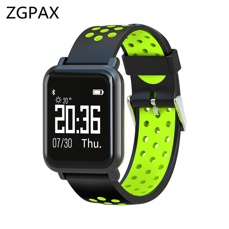2018 IP68 Waterproof smart band real-time heart rate monitor long standby time bracelet multi-sport model For Apple Xiaomi phone