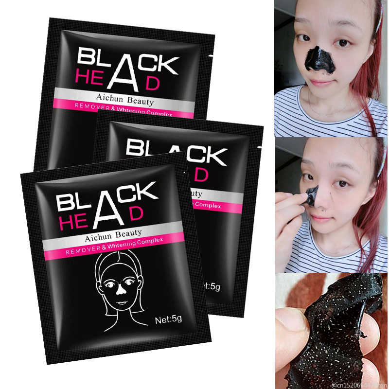 Wholesale 1Pcs Nose Peel Off Mask Blackhead Remover  Repair Deep Cleaning Skin Care Purifying Black Nud Facail Face Masks TSLM1