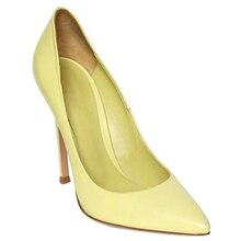 Mavirs Mode frauen damen mädchen prinzessin studenten hochzeit braut partei candy farbe sexy spitz high heels schuhe pumpen