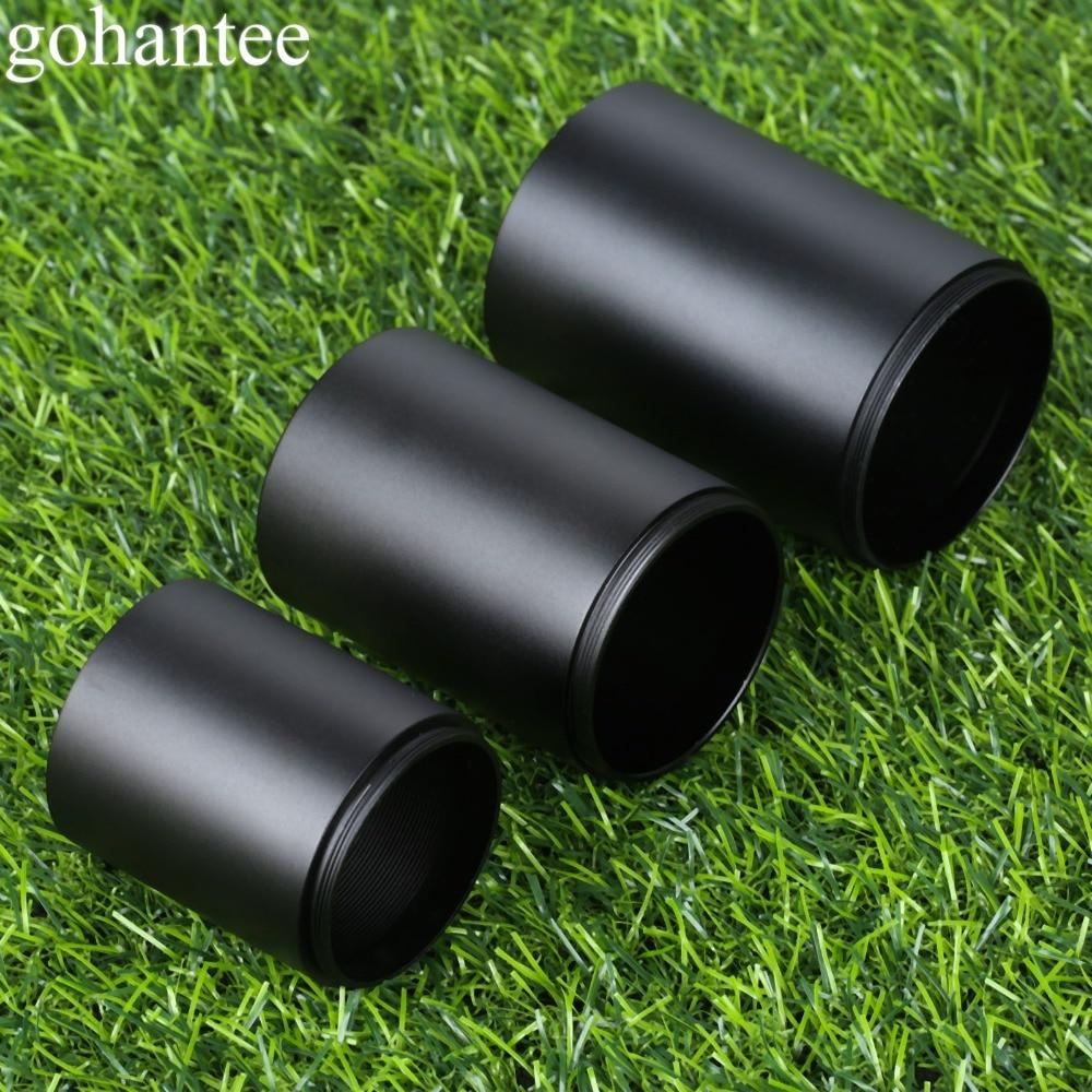Hunting Aluminum Alloy For 32mm 40mm 50mm Telescope Sun Shade Tube Lens Tactical Rifle Pistol Scope Objective Lens Sunshade Tube