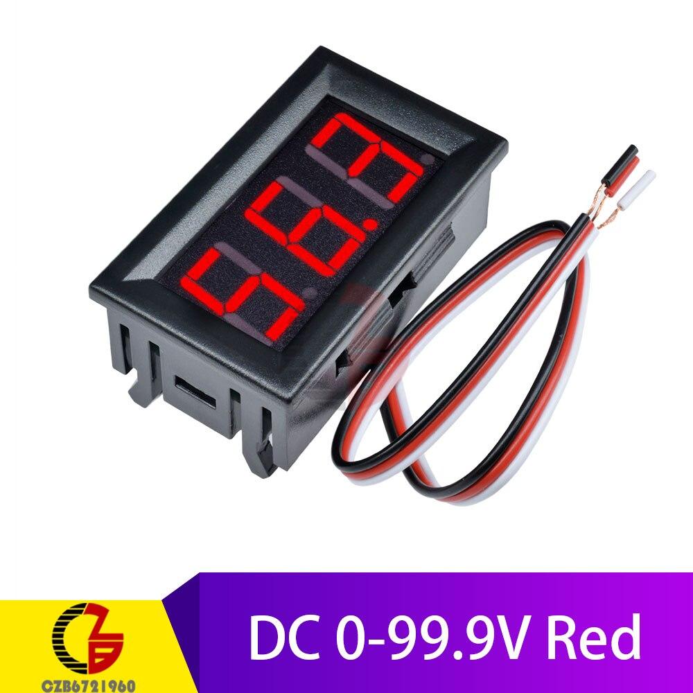 DC 0-99.9V Red