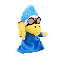 Super Mario Plush Doll Tortoise Glasses SuperMario Mario Magic Koopa Troopa