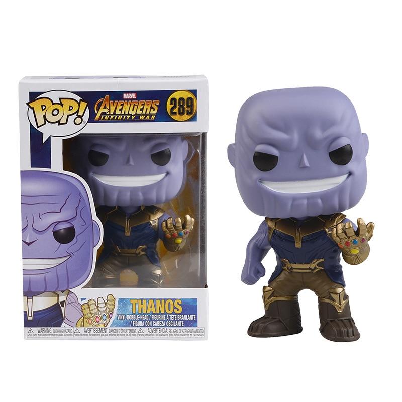 FUNKO POP The Avengers 3: Infinity War THANOS HULKBUST Super Hero Characters Model Vinyl Action & Toy Figures for Children gift 1