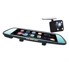 8 Inch Dual Lens 4G 1080P Driving Recorder 170 Degree Car Rear View Mirror DVR Inner Wifi Bluetooth Car Back Video GPS Navigator