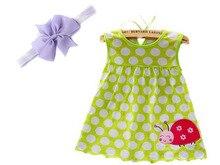 Baby Girl Summer Dress + Headband