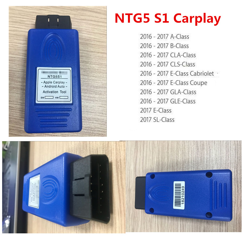 2019 Carplay For Mercede Unlimited Use NTG5 S1 Activation Tool Apple And Android Auto Started In 10 Seconds Diagnosis