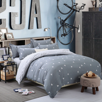 1 PC Trendy Triangular Stripes Environmental Printing And Dyeing Super Soft Duvet Cover Polyester Home Textile