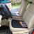Espessamento Pano De Malha Esteira Do Assento Almofada do Assento de carro Quatro Estações Auto Almofada Do Assento geral Cinza Preto Respirável Tampa de Assento Do Carro Pad