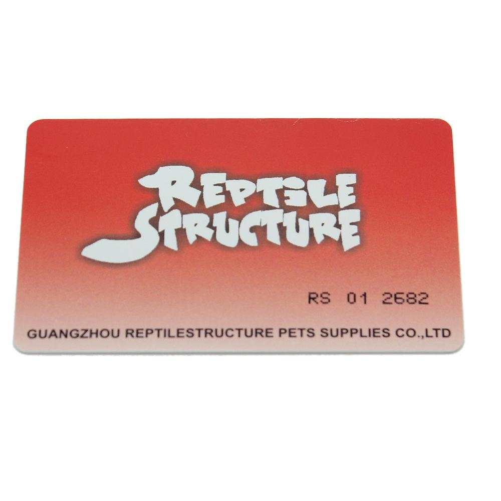 2019 Reptile Terrarium UVB Light Lamp Orange PVB Test Card Supplies 8.5 X 5.4 Cm