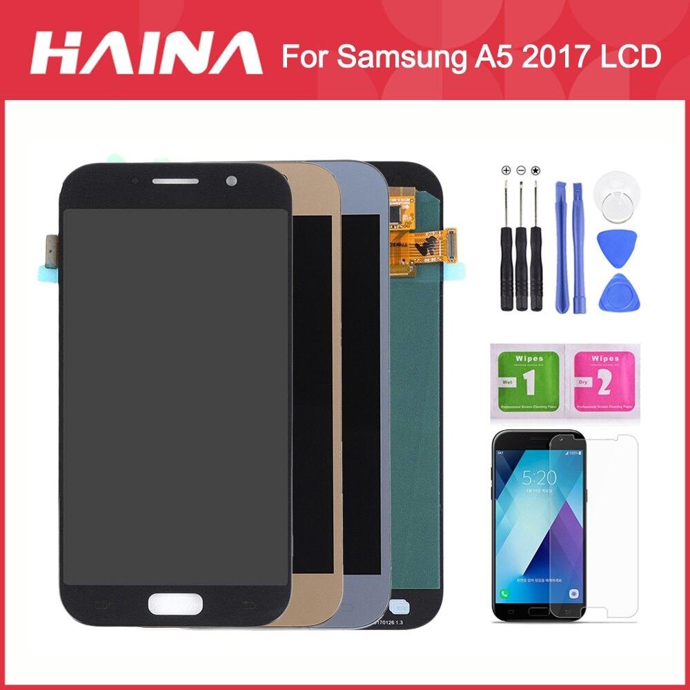 A5 2017 affichage pour Samsung Galaxy A5 2017 LCD A520F A520F/DS SM-A520F LCD écran tactile numériseur pour Samsung A5 2017 LCD