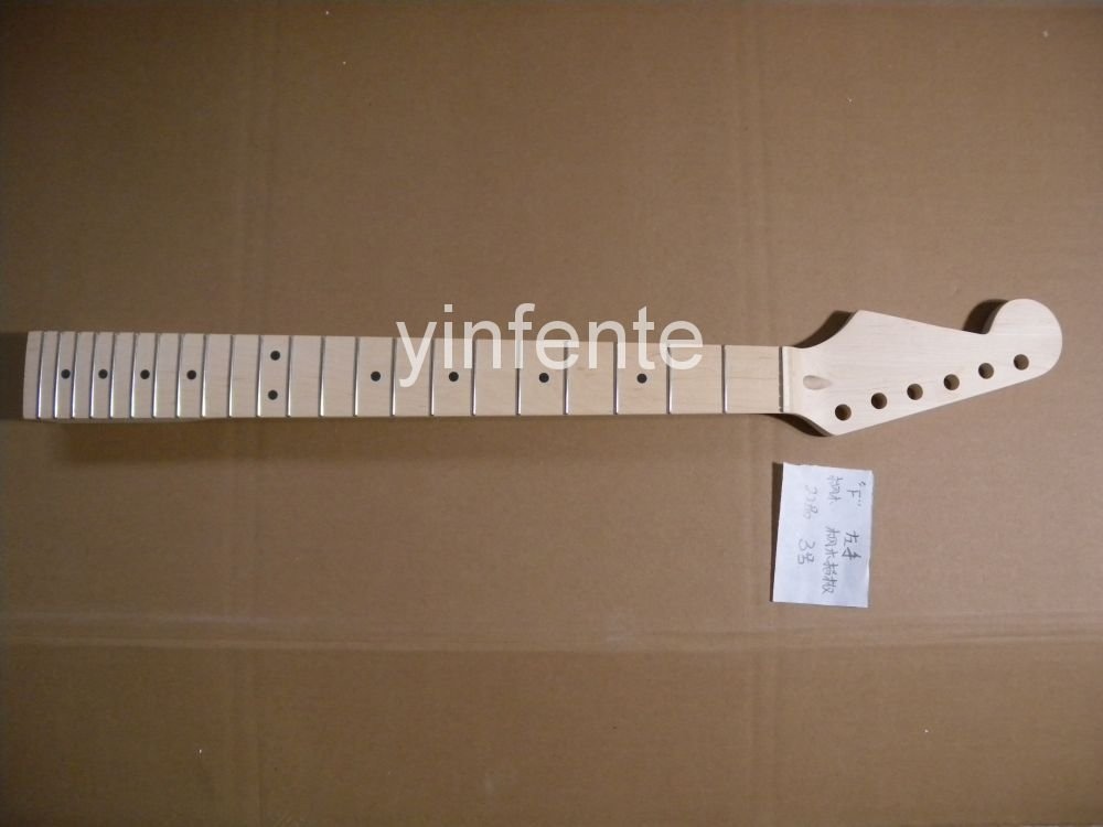 New High Quality Unfinished electric guitar neck Maple wood Body &  fingerboard    model 1pcs #3 new unfinished electric guitar neck truss rod 24 fret 25 5 free shipping dropshipping wholesale