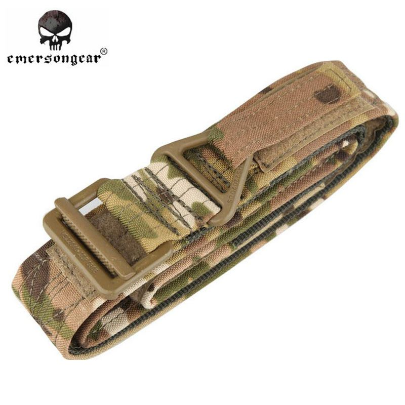EMERSON CQB Rappel Tactical Belt Hunting Military Airsoft Paintball Waist Belts