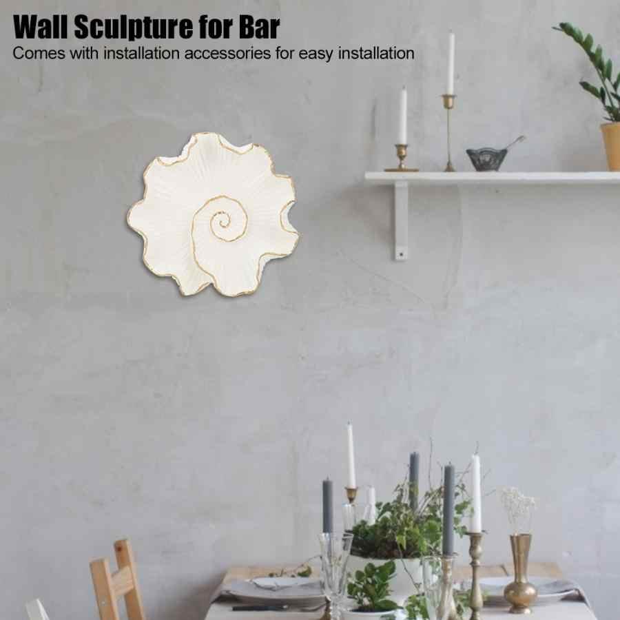 Настенная в античном стиле листья в форме лотоса настенная скульптура для паба бар гостиничный Декор