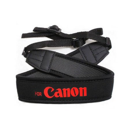 Neoprene Neck Strap Shoulder Belt For Canon DSLR SLR Camera Belt