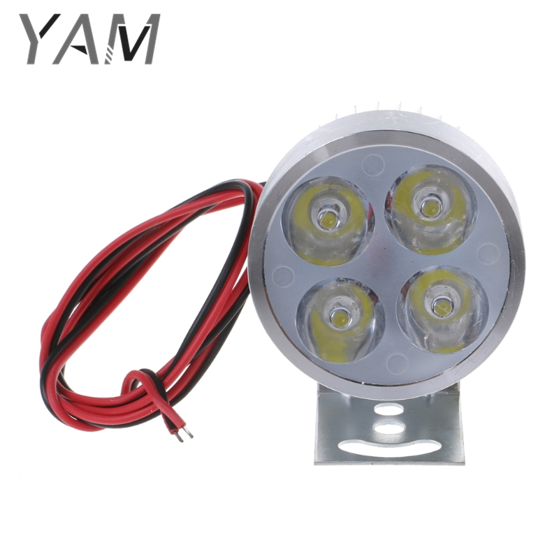 DC12-85V 8W High Bright LED Spot Light Head Lamp Bulb Electric Car Motorcycle
