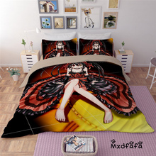 Mxdfafa Japanese Anime DATE A LIVE Printed Duvet Cover Set Bedding Luxury  Include 1 and 2 dakimakura covers