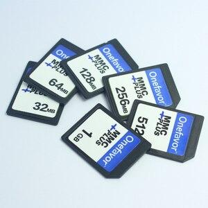 Image 2 - 5 adet onefavor 32 MB 64 MB 128 MB 256 MB 512 MB 1 GB MMC Multimedya Kartı 13 PINS eski Kamera