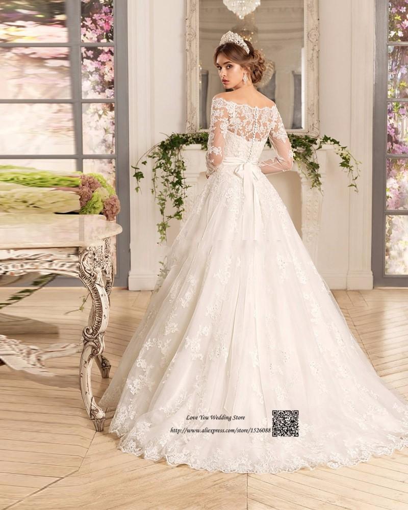 Western Country Turkey Boho Wedding Dress Long Sleeve Lace Bridal Dresses  Vestido de Noiva Princesa Wedding Gowns Louisvuigon. H3480 (1) H3480 (2) ... 863d052d00ea