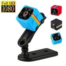 SQ11 Mini Camera 480P/1080P Full HD Night Vision Camcorder Car DVR Video Recorder Sport Digital Camera Support TF Card DV Camera
