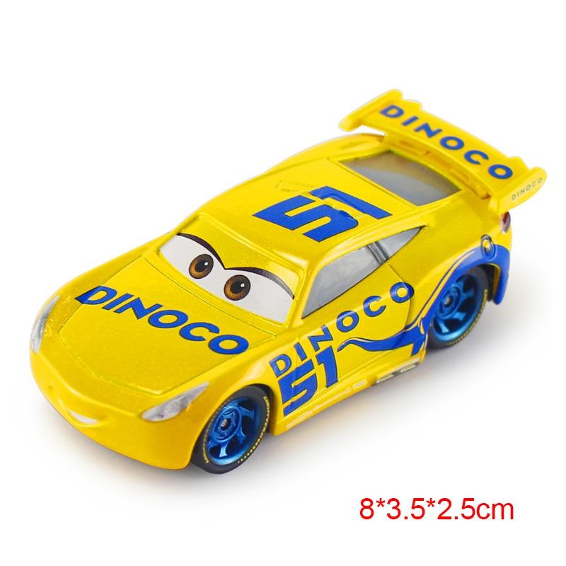 Дисней Pixar Тачки 2 3 Молния Маккуин матер Джексон шторм Рамирез 1:55 литье под давлением автомобиль металлический сплав мальчик малыш игрушки Рождественский подарок - Цвет: Ramirez