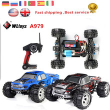 Wltoys A979 1/18 2.4GHz 4WD High Speed Monster 50Km/H Rc Racing Car With Transmitter RTR Control More Than 100m