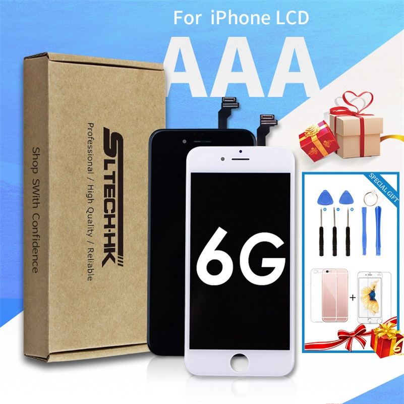 Grado AAA + + + LCD para el iPhone 6 6 s más reemplazo de la Asamblea pantalla No Pixel muerto 100% probado con 3D Touch envío gratis