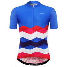 2017 Men's Cycling Jersey Biking Short Sleeve SBS Full Zipper Apparel Outdoor Road bicycle Shirt MTB Clothes(China)
