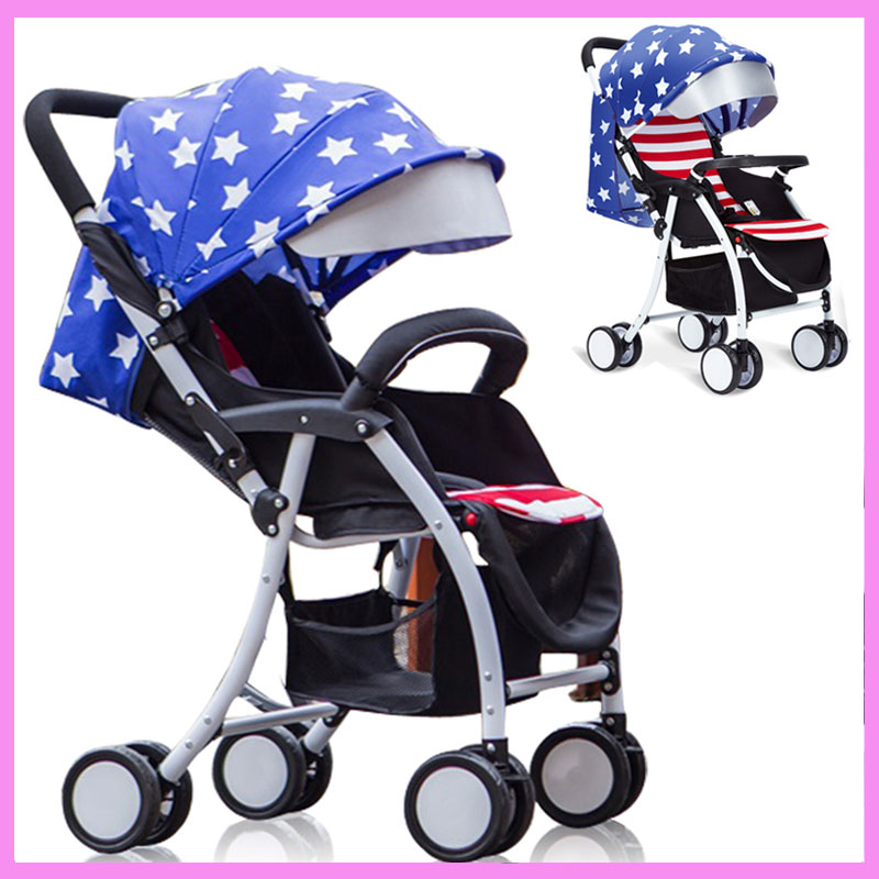 Lightweight Umbrella Baby Child Stroller Cart Travel Boarding Plane Car Folding Portable Buggy Pram Pushchair Armrest Footrest dali zensor 1 ax white