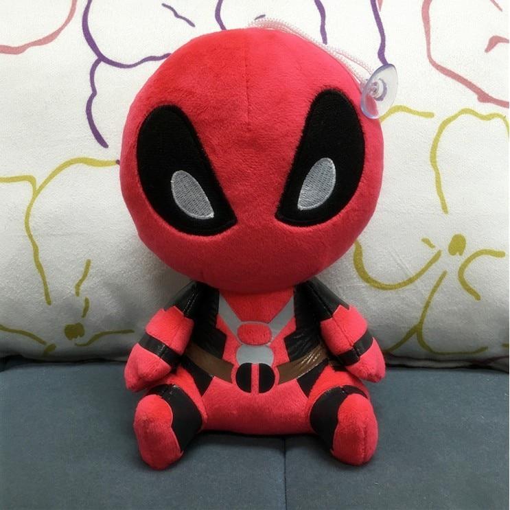 Marvel Deadpool Plush Toy Soft Stuffed Doll 8
