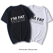 90960c49 I'm Fat Because T Shirt - Funny Your Mother Offensive Banter Joke Biscuit  top