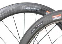 404 58mm 25mm Wideth Rims 700c Road Bicycle Carbon Wheels Clincher R36 Hub 20/24H Dimple Golf Wheels 45mm 50mm