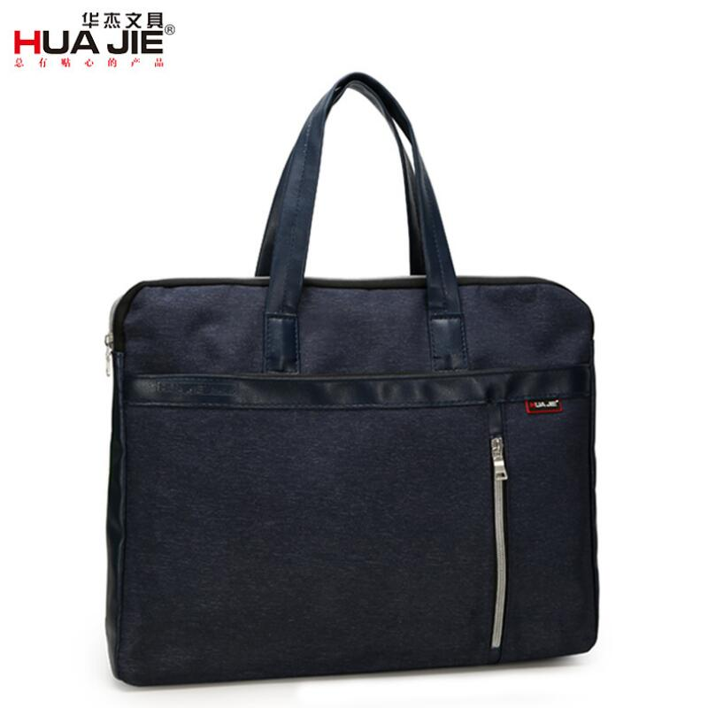 New Business Casual Fashion Briefcase Laptop Bag Office Supplies For Business Travel Salesman Student Convenient Storage EN4295