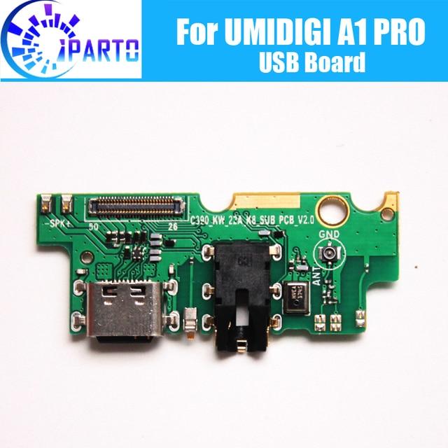 UMIDIGI A1 PRO carte usb 100% Original nouveau pour prise usb carte de charge accessoires de remplacement pour UMIDIGI A1 PRO téléphone portable