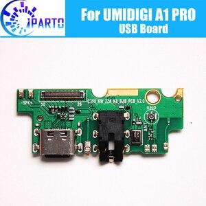 Image 1 - UMIDIGI A1 פרו usb לוח 100% מקורי חדש עבור usb תשלום התוספת לוח החלפת אביזרי עבור UMIDIGI A1 פרו סלולרי טלפון