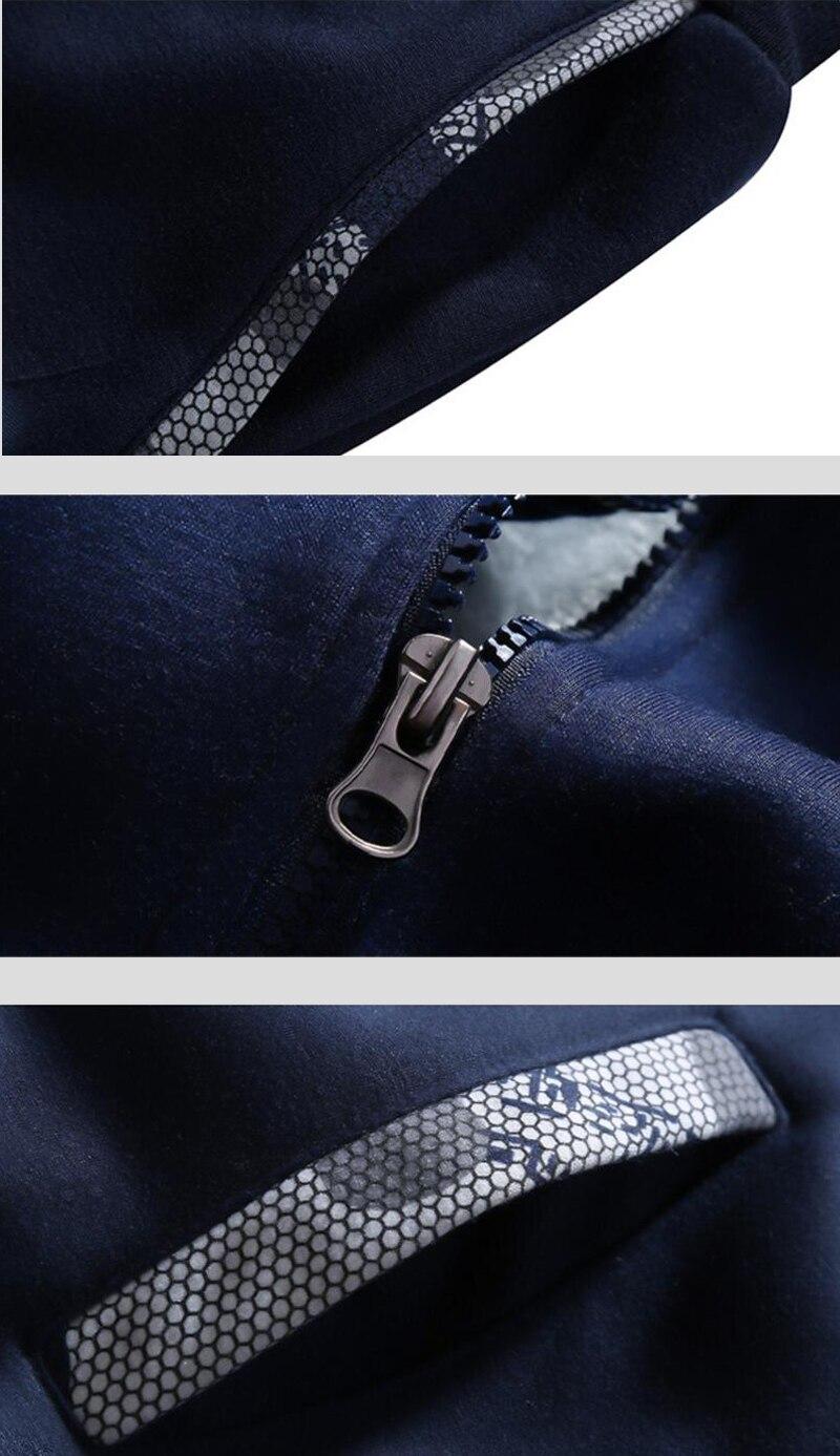SPQR Roman Hoodie Men hooded Sweatshirts Coat 2019 Winter New Brand Warm Fleece Thick Zipper Funny Camouflage sleeve Jacket Tops in Hoodies amp Sweatshirts from Men 39 s Clothing