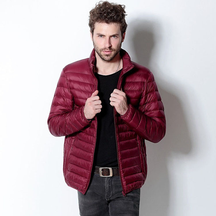 Aliexpress.com : Buy Mens Winter Jackets Thin Puffer Ultra Light