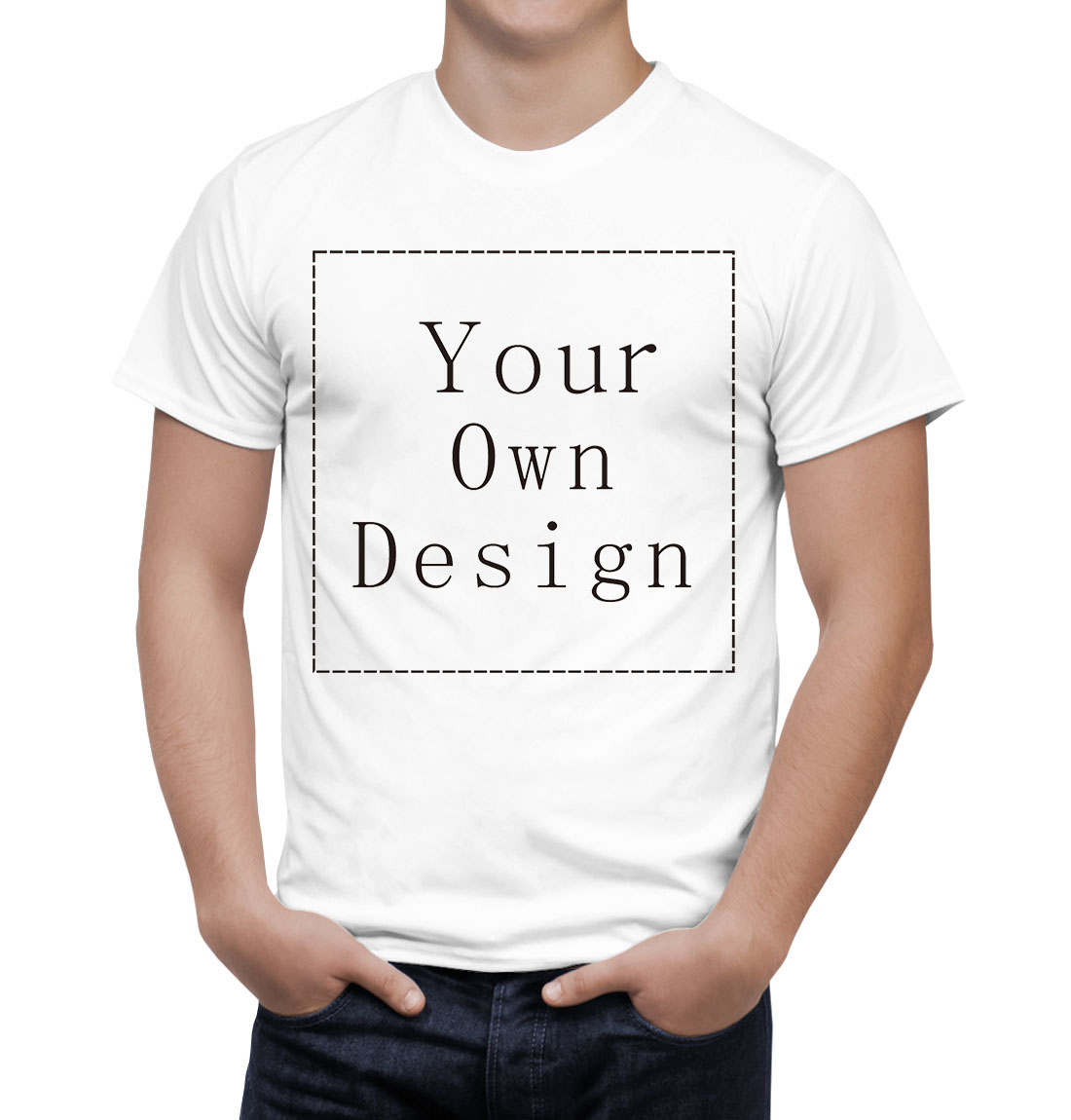 Design your own eco-friendly t-shirt - Customized Men S T Shirt Print Your Own Design High Quality Fast Ship China Mainland